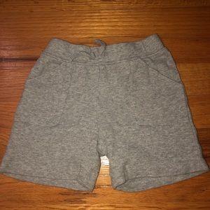 Carters toddler boys sweatpants shorts. Never worn
